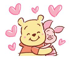 Winnie Pooh discovered by GLen =^● 。●^= on We Heart It Winnie The Pooh Cartoon, Winnie The Pooh Drawing, Cute Winnie The Pooh, Winnie The Pooh Quotes, Winnie The Pooh Friends, Cartoon Wallpaper Iphone, Cute Disney Wallpaper, Cute Cartoon Wallpapers, Disney Tattoos