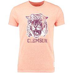 Clemson Tigers Original Retro Brand Vintage Tri-Blend T-Shirt - Heather Orange - $23.99