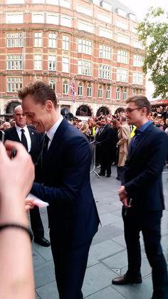 Tom Hiddleston at The BFI London Film Festival. High-Rise (09.10.15)  https://twitter.com/bonniealba/status/652532964711100416