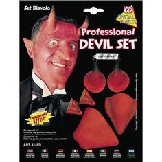 Set visage de diable
