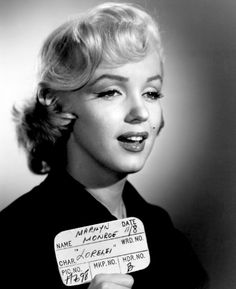 Our Beautiful Marilyn Monroe — Gentlemen prefer blondes hair test shot Marilyn Monroe Costume, Marilyn Monroe Photos, Marilyn Monroe Playboy, Gentlemen Prefer Blondes, Howard Hughes, Brigitte Bardot, Classic Hollywood, Old Hollywood, Hollywood Glamour