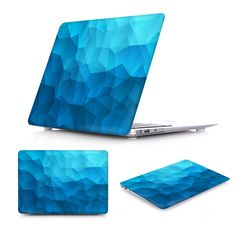 New Amazing Case for MacBook Air 13 Luxury Irregular Crystal Pattern Air 11 12 Hard Cover for Macbook Pro Retina 13 15 Case