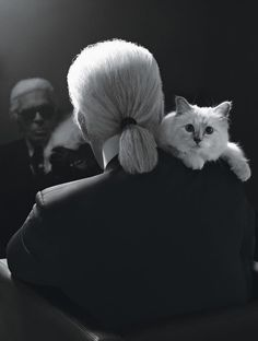 """""""When I was a child I asked my mother what homosexuality was about and she said - and this was 100 years ago in Germany and she was very open-minded - 'It's like hair color. It's nothing. Some people are blond and some people have dark hair. It's not a subject.' This was a very healthy attitude."""" Karl Lagerfeld"""