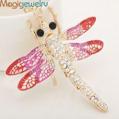 Creative Rhinestone Big Dragonfly Keychain Keyring Fashion Crystal Animal Metal Key Chain  http://www.aliexpress.com/store/product/Creative-Rhinestone-Big-Dragonfly-Keychain-Keyring-Fashion-Crystal-Animal-Metal-Key-Chain-for-Women-Purse-Handbag/1246187_1929217260.html
