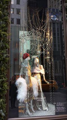 Christmas in New York City - Holiday Windows & Storefronts  - @bergdorfgoodman 2015