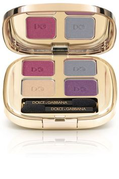 More fun than matte, but more grown-up than glitter, metallics in jewel tones, bronze and platinum are musts for fall. Dolce & Gabbana The Eyeshadow Quad Fall Collection, $62.