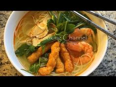 How to Make Bun Suong (Northern Style Shrimp Noodle Soup)