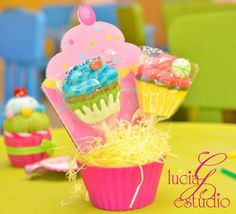 Sweet Cupcake Party | CatchMyParty.com