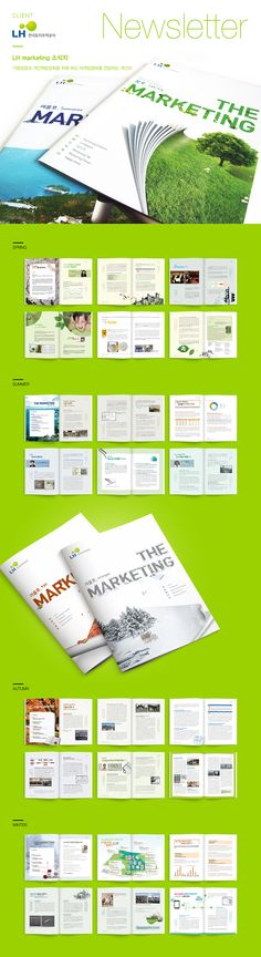 LH공사 소식지 Graphic Design Flyer, Flyer Design, Creative Flyers, Creative Design, Pop Up Banner, Marketing Flyers, Picture Albums, Book Making, Editorial Design