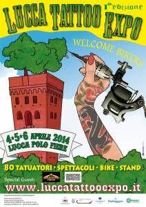 1ª Lucca Tattoo Expo | Tattoo Filter