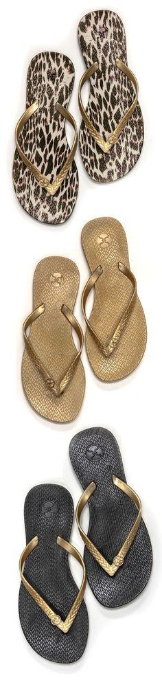 7a89d4862 decisions decisions - cute flip flops Gold Flip Flops