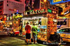 Street food in NYC