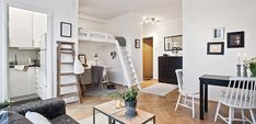 Aprovechar espacio en hogares pequeños - http://www.decoora.com/aprovechar-espacio-en-hogares-pequenos/