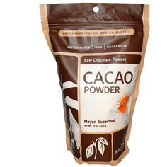 Navitas Naturals, Cacao Powder, Raw Chocolate Powder, 16 oz -iHerb.com. Just discovered iHerb.com!!! My favorite natural/health store! The lowest prices I've ever found & always get my packages w/in about 3 days & free shipping! Use my discount code: SBJ384 for a huge discount on your order ! This site makes being healthy easier & affordable. Seriously...try it!