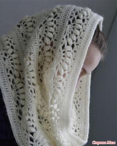 Lace Scarf Pattern Lace Shawl and Wrap Knitting Patterns for the Love Of Lace 8 Lovely Lace Knitting Patterns Lace Scarf Pattern . Shawls for Bulky Yarn Knitting Patterns Foldi Frost Flower Lace Shawl Free Machine Knitting Pattern. Crochet Diy, Beau Crochet, Mode Crochet, Crochet Crafts, Single Crochet, Crochet Hooks, Crocheted Lace, Double Crochet, Crochet Scarves