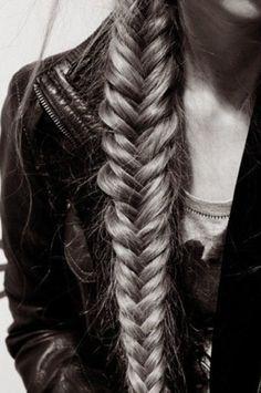 Herring- bone braid