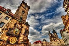 Praga Wonders Of The World, Big Ben, Places To Go, Beautiful Places, City, Painting, Travel, Photograph, Prague