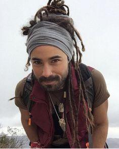 Men with Dreads - Dreadlock Headband / Head Wrap