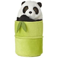 "Aurora World Pop Up Panda 11"" Plush Puppet *** For more information, visit image link. (This is an affiliate link) #Puppets"
