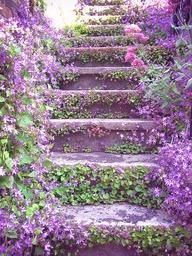 What a heavenly stairway...