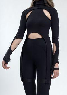 High Fashion, Street Fashion, Womens Fashion, Cyberpunk Fashion, Cyberpunk Clothes, Neue Outfits, Future Fashion, Character Outfits, Looks Style