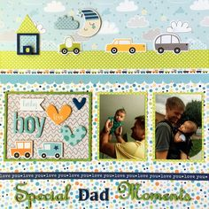 21c3158e3c6d 604 Best Baby Scrapbooking Layouts images in 2019