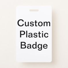 Design Your Own Custom Photo Plastic Badge - photo gifts cyo photos personalize