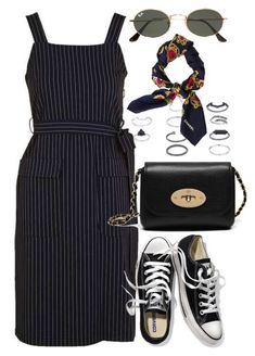 """""""Untitled #5894"""" by rachellouisewilliamson ❤ liked on Polyvore featuring Topshop, Victoria's Secret, Ray-Ban, Chanel and Mulberry"""