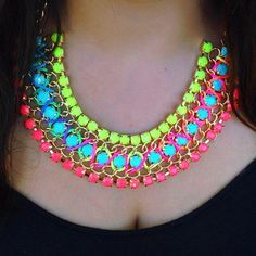 Neon necklace <3