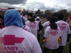 Team Handycars! Breast Cancer Walk, Walk On