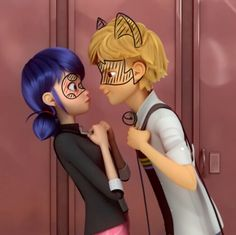 This part of season 2 was like omggg he's teasing her just like chat. <--- YASSSS I watched a video on a possiblity of Adrien having a crush on Marinette, and when it got to this I got chat vibes from Adrien the whole time Miraculous Ladybug Wallpaper, Miraculous Ladybug Fan Art, Meraculous Ladybug, Ladybug Comics, Bugaboo, Lady Bug, Bb Chat, Les Miraculous, Adrien Miraculous