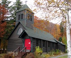 Church of the Transfiguration, Blue Mountain Lake, New York
