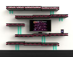 etagere murale geek