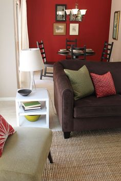 1000 Images About Jesse Red Accent Wall Living Rooom On