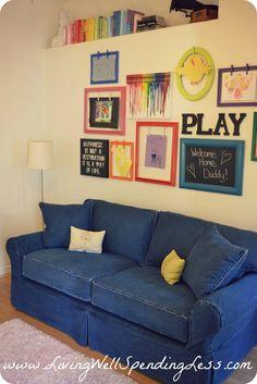 Cindy Crawford Home Beachside Denim Sofa Rooms To Go