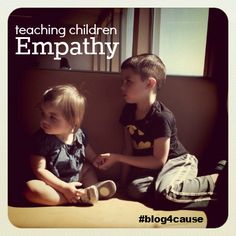 teaching kids empathy #blogforcause {Share your own Community Outread Activities}