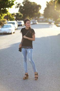 Black Lace | www.natalie-dressed.com