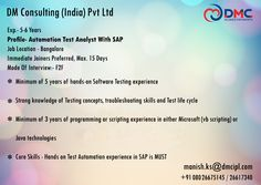 Software Testing, Job Posting, 6 Years, Knowledge, Wedding Ring, Consciousness