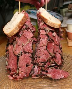 Pastrami Sandwich, Harold's Deli, Edison. I am a vegetarian, but I've seen this. It's real.