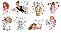 Oui Merci, Thank You Images, Honey Packaging, My Little Paris, Pretty Drawings, Star Chart, Paris Art, Jolie Photo, Little Boxes