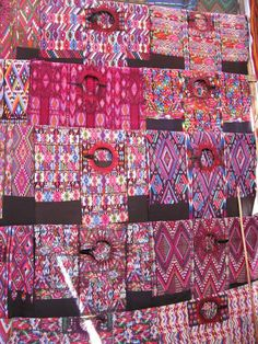 Chichicastenango textiles Guatemala