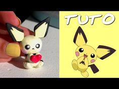 Pokémon Tuto Fimo Pichu polymer clay tutorial