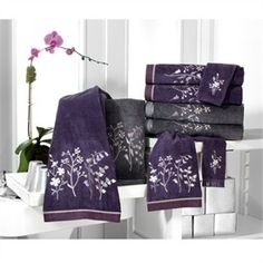 Attractive Purple And Grey Bathroom Ideas | ... Bath Towels By Avanti Are You Looking