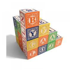 Classic Blocks by Uncle Goose #toys #cooltoys