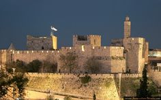 Tower of David - Jerusalem. Definitely on my list of places to visit.