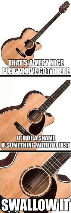 Guitar meme. This is classic, happens to me allllll the time!!!