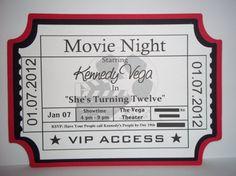 Movie night invite.