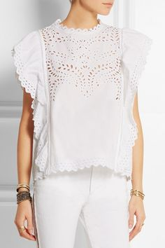 Étoile Isabel Marant's feminine 'Salvia' top is perfect for hot weather