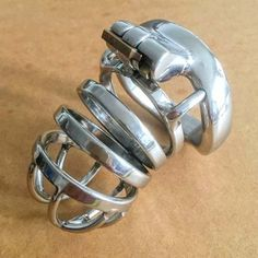 22.19$  Buy here - http://alik0j.shopchina.info/go.php?t=32790897542 - BDSM metal cock cage stainless steel male chastity device penis lock cages cockring cbt sex toys for men CB6000S  #aliexpressideas