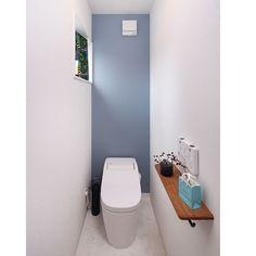 Otherのシンプルインテリア/NO GREEN NO LIFE/フローラ/いつもいいねありがとうございます♡…などについてのインテリア実例を紹介。 Wc Design, House Design, Restroom Design, Toilet Room, Bathroom Toilets, Guest Suite, Kitchen Dining, Layout, Storage